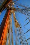 Mastros e céu Foto de Stock Royalty Free