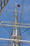 Masts. Close up Masts of ship Stock Images