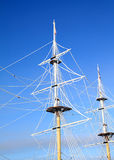 Masts In Ice Stock Images