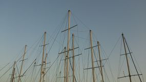 Masts Royalty Free Stock Photography