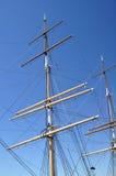 Masts och rigging Arkivbild