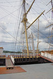 Masts, rigging and yardarms Stock Photos