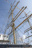 Masts of a sail ship Royalty Free Stock Image