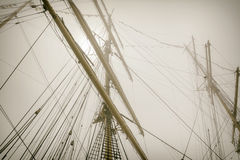 Masts Stock Image