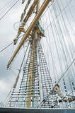 Masts and Sails Stock Image