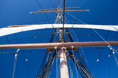 Tall Ship Rigging Royalty Free Stock Photo