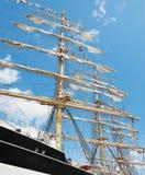 masts seglar Royaltyfria Foton