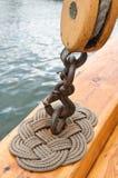 masts seglar Royaltyfri Fotografi