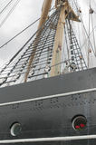 masts seglar Arkivfoto