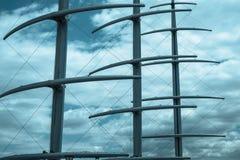 Masts, smoothline Stock Photography