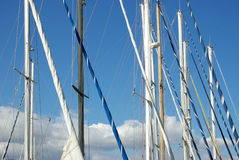 Masts Royalty Free Stock Images