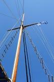 Mastsegelbåt Fotografering för Bildbyråer