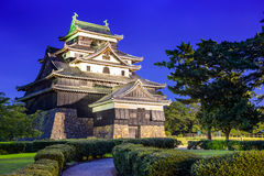Mastue Castle in Japan Royalty Free Stock Photo