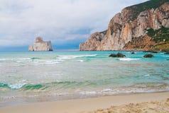 Masua beach Royalty Free Stock Photos