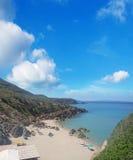 Masua beach Stock Image