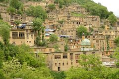 Masuleh village Stock Photography