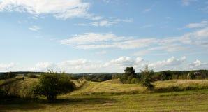 Masuria - prados, campos Foto de Stock
