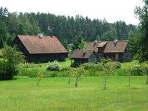 masurian altes Bauernhaus Lizenzfreie Stockfotografie