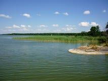 Masurian jezioro Zdjęcie Royalty Free