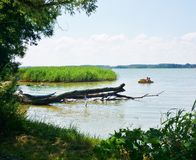 Masurian jezioro Zdjęcia Royalty Free