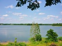 Masurian jezioro Zdjęcie Stock