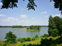 Masurian jezioro Obrazy Stock