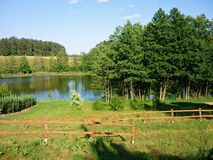 Masurian jezioro Obraz Stock