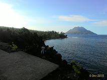 Masya Allah.. View from Batu Angus Ternate Stock Photo