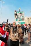 Masywna demonstracja, Kair, Egipt Obrazy Stock