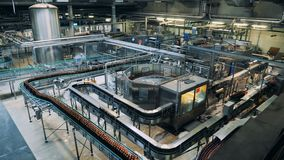 Masywna jednostka destylarni fabryka z maszynerią zbiory