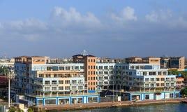 Masywna mieszkanie własnościowe budowa na Aruba fotografia royalty free