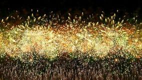Masywni Niekończący się fajerwerki zdjęcie wideo