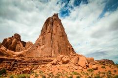 Masywny żebro Moab, Utah - łuku park narodowy - fotografia royalty free