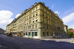 Masywny dom miejski w Bern fotografia royalty free