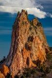 MASZERUJE 8, 2017 bóg ogród, COLOARDO wiosny, CO, usa - Krajowych Naturalnych punkt zwrotny cech Osadowa rockowa formacja Fotografia Stock