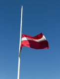 Maszt flaga Obrazy Stock