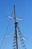 Maszt statek Zdjęcia Royalty Free