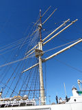 Maszt statek Fotografia Stock