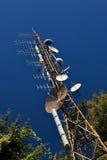 masztowa telekomunikacja Obrazy Stock