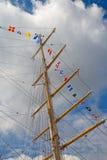 masztu statek s Zdjęcia Royalty Free