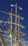 Maszty żeglowanie statek Zdjęcia Royalty Free