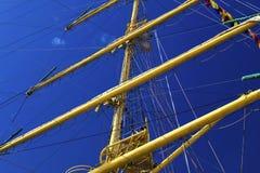 Maszty żeglowanie statek Obraz Royalty Free