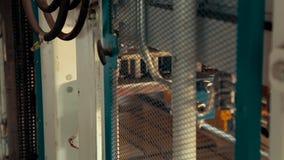 Maszyna Dla manufaktury Brukowe cegiełki, w górę, Maszynowy Prores Codec zbiory