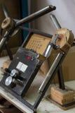 Maszyna dla mierzyć melaninę Meblarska manufaktura Zdjęcie Stock