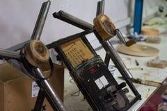 Maszyna dla mierzyć melaninę Meblarska manufaktura Obrazy Royalty Free