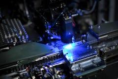 Maszyna dla produkci emitować diody Zdjęcia Stock