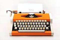 maszyna do pisania Obrazy Royalty Free