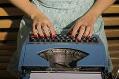 Maszyna do pisania Fotografia Royalty Free