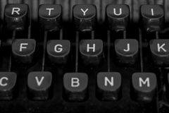 Maszyna do pisania II Obraz Stock