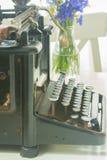 Maszyna do pisania na stole Obrazy Stock